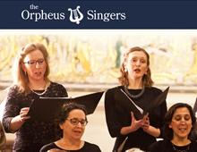 Orpheus Singers Website